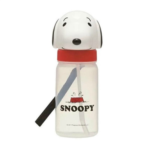 【送料込・まとめ買い×72個セット】 スケーター ダイカット ストロー ボトル SNOOPY PBS3STD スヌーピー 1個