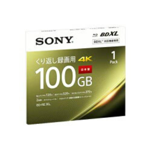 【送料込・まとめ買い×60個セット】ソニー ブルーレイディスク BNE3VEPJ2 くり返し録画用 100GB 1Pack 1個