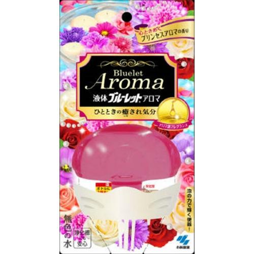 【まとめ買い】【小林製薬】液体ブルーレットおくだけ アロマ 心ときめくプリンセスアロマの香り 70ml ×48個セット