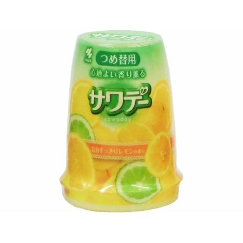 小林製薬 サワデー 気分すっきりレモンの香り 詰替え 140g ×48個セット