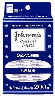 ジョンソン・エンド・ジョンソン 綿棒 200本入 ×48個セット