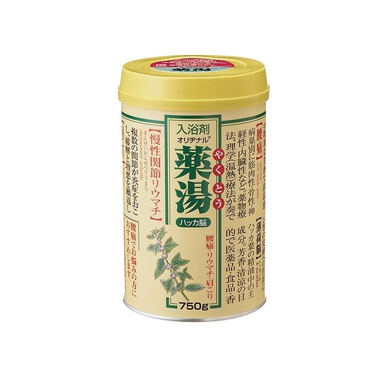 オリヂナル 薬湯 ハッカ 750g ×12個セット