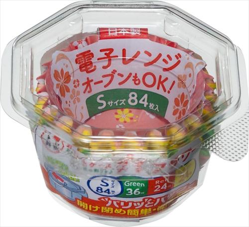 【送料込】 東洋アルミ おべんとケースプチフラワー S 84枚入 ×150個セット