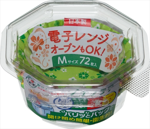 【送料込】 東洋アルミ おべんとケースプチフラワー M 72枚入 ×150個セット