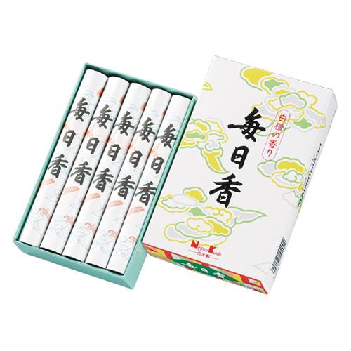 日本香堂 お線香 毎日香 中10把入 ×50個セット
