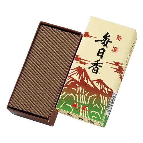 日本香堂 お線香 特選毎日香 バラ ×60個セット