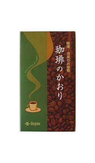コーヒー好きだったあの方へ 4972853107549 送料込 薫寿堂 1個 人気海外一番 即日出荷 珈琲のかおり 80g