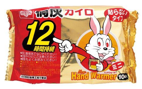 桐灰化学 ハンドウォーマー ミニ 10枚入 ×48個セット