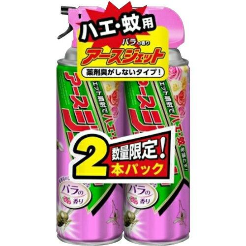 アース製薬 アースジェット バラの香り 450ml ×2本パック ×15個セット