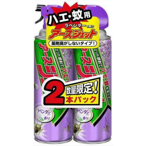 アース製薬 アースジェット ラベンダーの香り 450ml ×2本パック ×15個セット