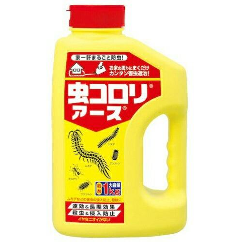 【送料込・まとめ買い×10個セット】 アース製薬 虫コロリアース 粉剤 1kg 1個
