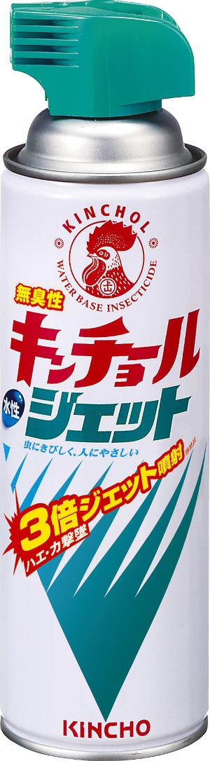 【送料込・まとめ買い×30個セット】 大日本除虫菊・金鳥 水性キンチョール ジェット 無臭性 450ml 1個