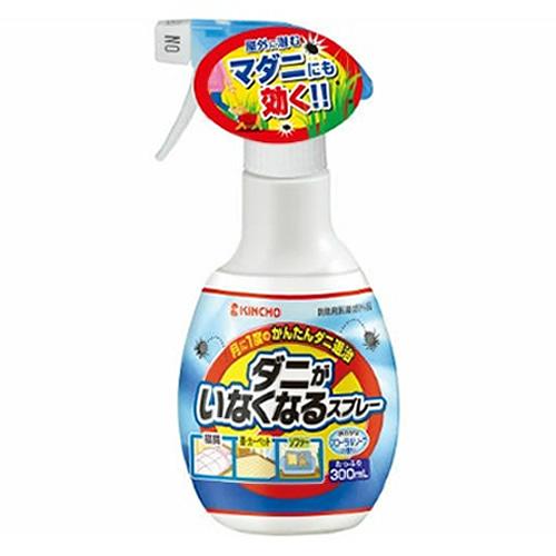 【送料込・まとめ買い×24個セット】 大日本除虫菊・金鳥 ダニがいなくなるスプレー 300ml 1個