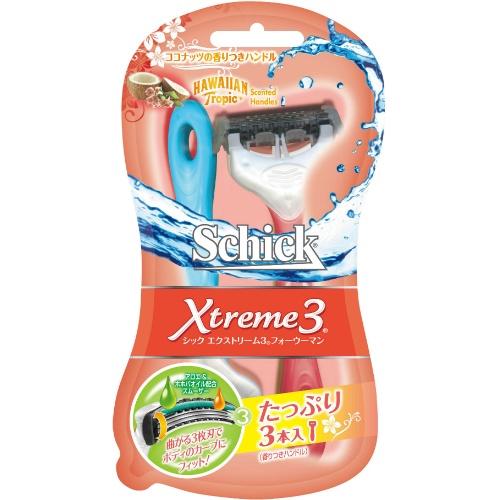 【送料込】 シック Schick エクストリーム3 フォーウーマン 2本入 ×144個セット