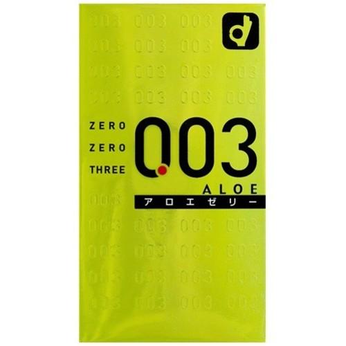 オカモト オカモトゼロゼロスリー アロエ 10個入 ×144個セット