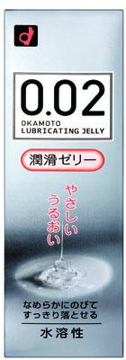 오카모트제로제로트 002 윤활 젤리 60 g무취・무색 투명 간단하게 씻어 흘릴 수 있는 수용성 로션(4547691730985)