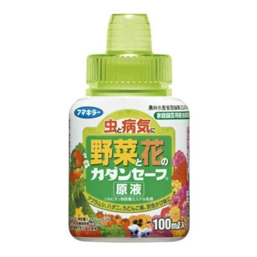 4902424429442 送料込 フマキラー 買い取り 虫と病気に 野菜と花の 園芸用殺虫剤 1個 カダンセーフ 原液 安全 100ml