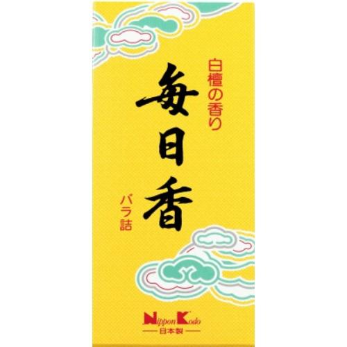 【送料込・まとめ買い×100個セット】日本香堂 毎日香 小型 バラ 70g 1個