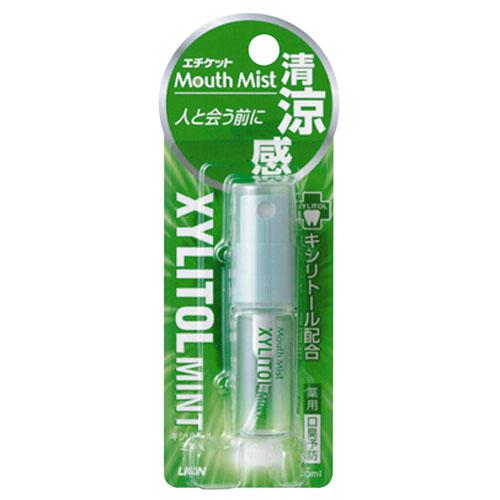 ライオン エチケットマウスミスト キシリトールミント 5ml ×72個セット 【口臭予防】