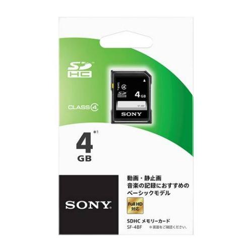 【送料込】 ソニー SDカード 4GB SF-4BF ×100個セット