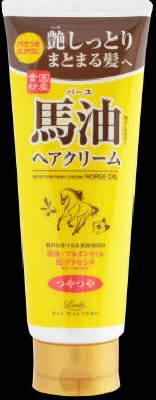 【送料込】 ロッシ モイストエイド 馬油 ヘアクリーム 160g ×48個セット (ば-ゆ バーユ 美容 ヘアケア)
