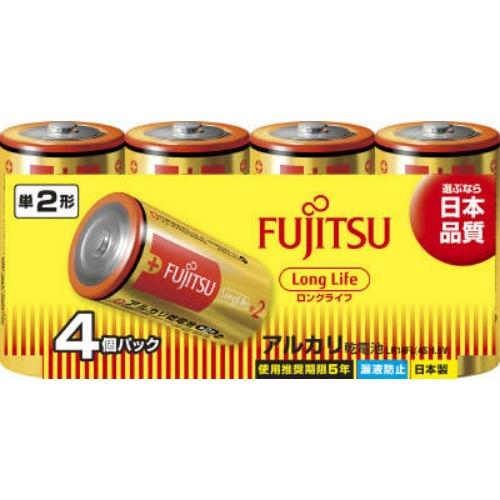 FDK FUJITSU 富士通 LongLife 単2形×4個パック LR14FL 4S ×30個セット