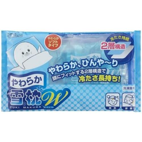 【まとめ買い】【ダンロップ】【雪枕】やわらか雪枕ダブルタイプ ×14個セット