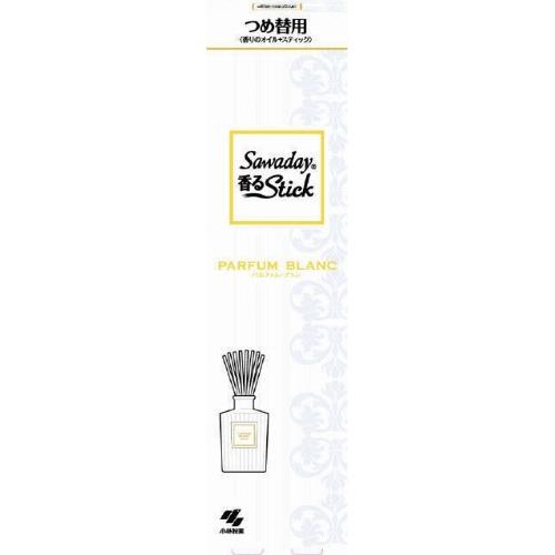【まとめ買い】【小林製薬】【サワデー】Sawaday香るStickつめ替用 パルファムブラン 70ml【70ml】 ×70個セット