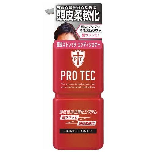 【送料込・まとめ買い×16個セット】 ライオン PRO TEC(プロテク) 頭皮ストレッチ コンディショナー ポンプ 300g 1個 (ヘアケア・日用雑貨・コンディショナー)