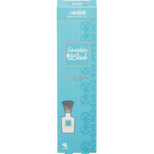 【送料込・まとめ買い×70個セット】小林製薬 Sawaday 香るStick パルファム・ブルー つめ替用 70ml 1個