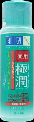 【送料込】 ロート製薬 肌研 ハダラボ 薬用極潤スキンコンディショナー しっとりタイプ 170ml 医薬部外品 ×48個セット (スキンケア・化粧水・美容)