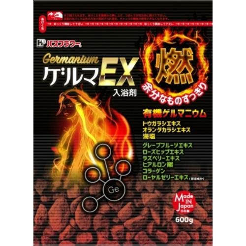 【送料込・まとめ買い×18個セット】 バスフラワー スキンケア ゲルマEX 600g 1個