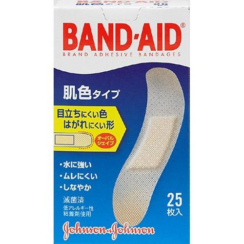 ジョンソン・エンド・ジョンソン バンドエイド 肌色 25枚入 ×72個セット