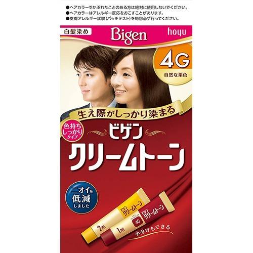 【送料込】 ホーユー ビゲン クリームトーン 4G 自然な栗色 ×54個セット