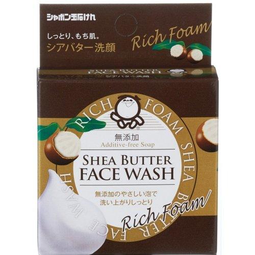 シャボン玉販売 シアバター洗顔 60g 無添加 ×40個セット (洗顔石鹸 スキンケア・石鹸・無添加)