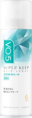 サンスター VO5 スーパーキープ ヘアスプレー エクストラハード 無香料 125g ×36個セット