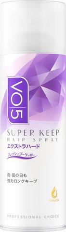 サンスター VO5 スーパーキープ ヘアスプレー エクストラハード 微香 330g ×24個セット