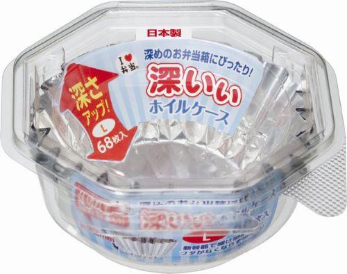【送料込】 東洋アルミ 深いぃ ホイルケース L 68枚入 ×150個セット
