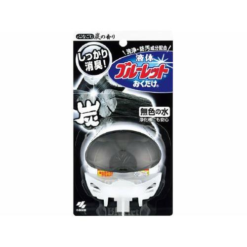 【送料込・まとめ買い×48個セット】小林製薬 液体ブルーレットおくだけ 心なごむ炭の香り 70ml 1個