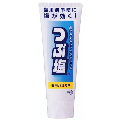 【送料無料・まとめ買い×48個セット】花王 つぶ塩薬用ハミガキ スタンディングチューブ 180g