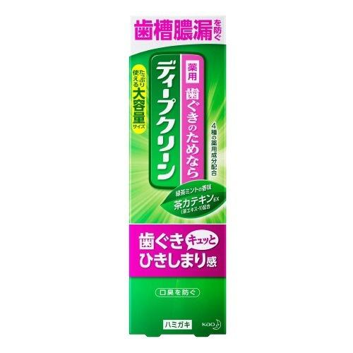 【送料無料・まとめ買い×48個セット】花王 ディープクリーン 薬用ハミガキ 160g