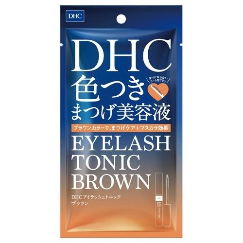 【送料無料・まとめ買い×48個セット】DHC アイラッシュトニック ブラウン 6g 色つきまつげ美容液 1個