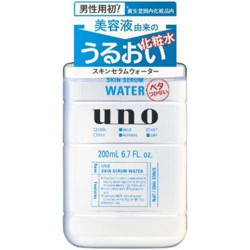 【送料込・まとめ買い×36個セット】 資生堂 UNO ウーノ スキンセラムウォーター 化粧水 200ml 1個