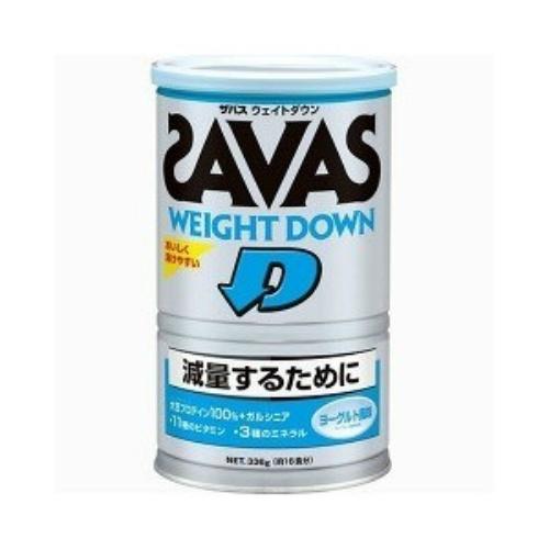 明治 ザバス SAVAS ウエイトダウン プロテイン ヨーグル味 336g ×10個セット