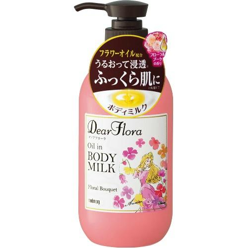 【送料込・まとめ買い×24個セット】 MANDOM マンダム ディアフローラ オイルインボディミルク フローラルブーケの香り 240ml 1個