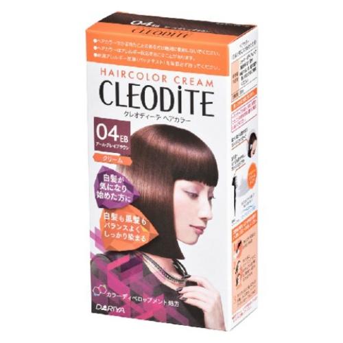 【送料込・まとめ買い×30個セット】 ダリヤ クレオディーテ ヘアカラークリーム 白髪が気になり始めた方用 04 アールグレイブラウン 1個