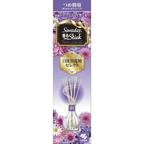 小林製薬 消臭元 香るスティック 日比谷花壇 アロマティックフローラル 詰替え 70ml ×50個セット