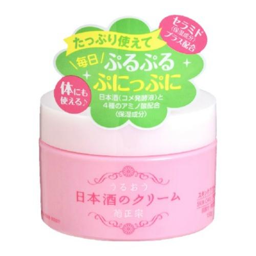 肌の状態を整える日本酒配合のクリーム 高級な 4971650800912 送料込 菊正宗 1個 ショッピング 150g うるおう日本酒のクリーム