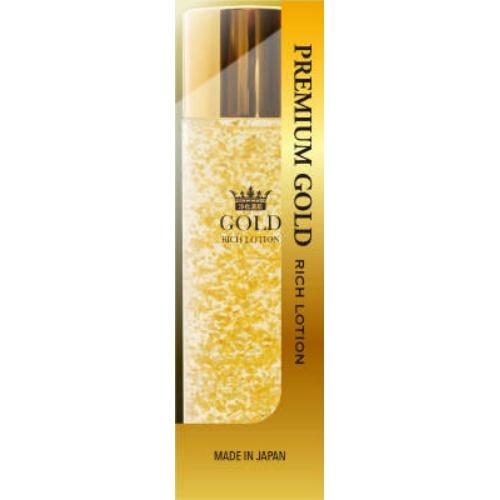 コスメテックスローランド ロッシ ゴールドリッチローション プレミアム 化粧水 120ml 1個 ×36個セット