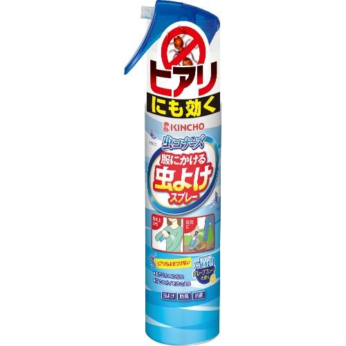【送料込・まとめ買い×20個セット】 大日本除虫菊 虫コナーズ ヒアリにも効く 服にかける虫よけスプレー 200ml 1個